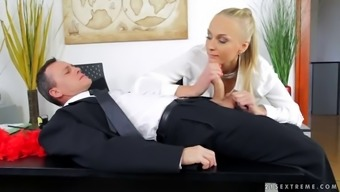 kayla green is fucked by one of her lucky employees