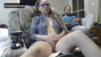 Hidden cam shows wife masturbating amazing