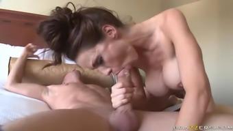 Post shower hardcore sex slut
