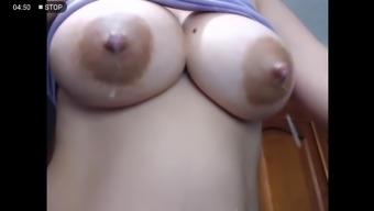 Milky nipples