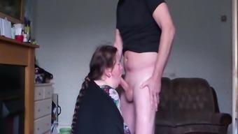 Suck -Slut hidden cam