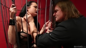 Alektra Blue is a hot brunette fucked well by a horny stud