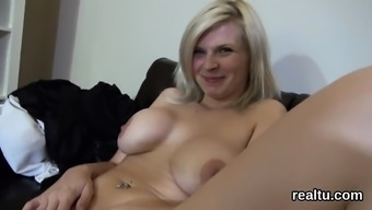 Breathtaking czech girl is seduced in the hypermarket and ba