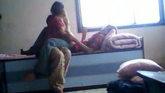 Getting my petite Indian lady horny for sex on hidden cam