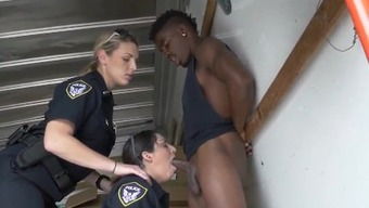 Fake cop cheating and big tits police orgy