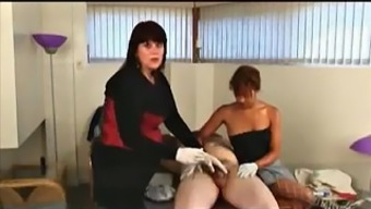 Two sluts doing CBT