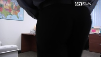 Step-Son Sexually Harassed By Step-Mom At Work