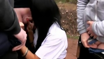 Killergram Indian Babe Dogging with lots of strangers cocks