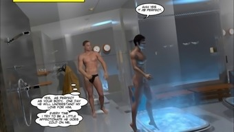 Gay hardcore anal comic book about fucking in the ass