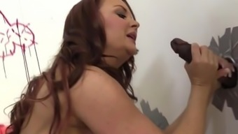 Janet Mason Interracial Gloryhole Sex
