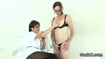 Unfaithful english mature lady sonia exposes her big tits