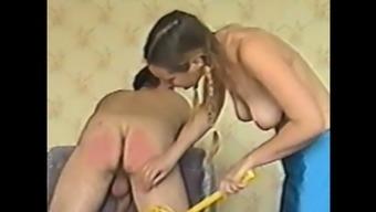 Czech amateur Femdom from 1997