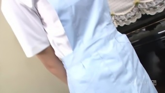 Nurse Suzuka Ishikawa Fucked in Threesome (Uncensored JAV)