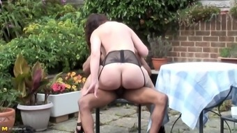 British mother takes black cock for first time