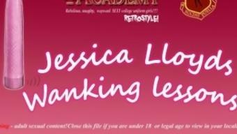 Jessica Lloyd is a naughty teacher