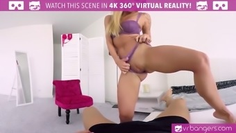 vr porn-sexy blonde angel piaff play with her pussy and cum hard
