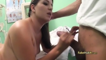 Sexy babe banged in hospital