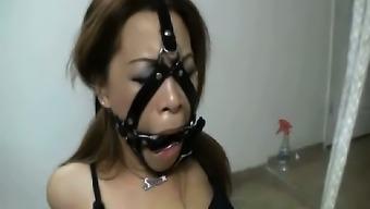 Femdom Girl In Seductive Fetish Domination