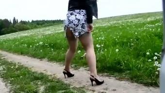 old slut outdoor