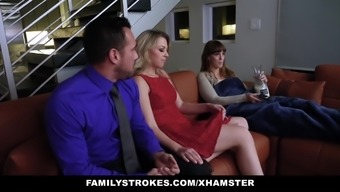 FamilyStrokes - Sexy Teen Zoe Loves Her Stepdads Cock
