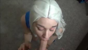 Daenerys Deepthroat POV BJ