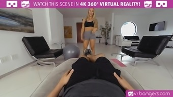 Nicole Aniston as your personal trainer will coach you and suck your dick