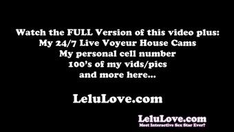 Lelu Love-WEBCAM: Shower Pregnant Belly Oiling