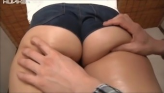 Mysterious Young Lady Requests Her Plump Thighs Be Massaged From Behind