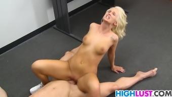 Emily Austin Fucks With Her Coach