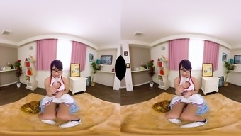 Vr binaural heritage support of mari takasugi who will support your masturbation with full power vr a . watch more