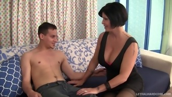 Shay Fox brings home a handsome stud and makes him cum hard