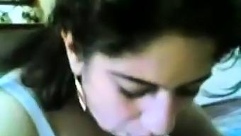 Iranian Young girl sucking cock