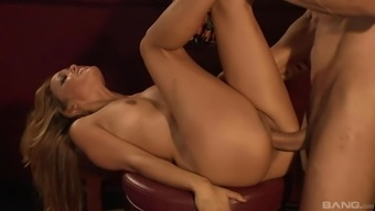Sex from behind is the favorite sex pose of  amazing Melanie Rios