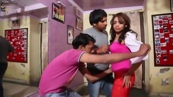 Desi dance student exploited by 2 guys