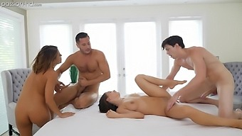 After lesbian experience horny girl Adriana Chechik wants to ride a cock