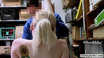 Shoplifter Lexi Lore let LP Guy bangs her wet pussy