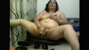 my moms friend doing live nude video for me