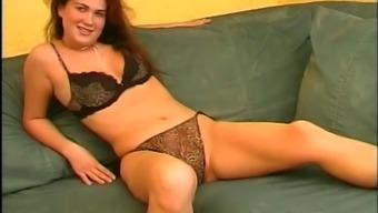 Slutty mature European women masturbate & dildo themselves on camera