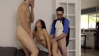 Jasmine Gomez In Step Family Threesome