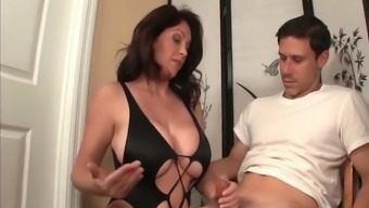 Mature Busty MILF Made Her Incurance Agent Cum Twice