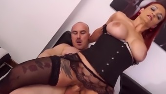 LETSDOEIT - Kinky RedHead Mom Ass Fucked By Her Lover