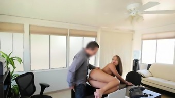 LOAN4K. Absolutely beautiful modest girl gets in hands