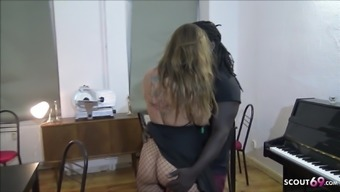 Big Black Cock Boss Seduce Employee Franzi to Fuck on Work