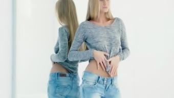 LETSDOEIT - Hot Ukrainian Blondie Nancy A Delights in Slow Sensual Sex