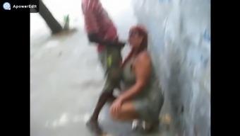 Fucking crown sucking beggar on the street.