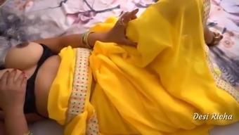 Indian Desi Richa Sex with Neighbor Raaj