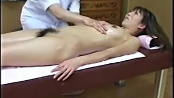 Japanese Sexual Massage To  Hairy Girl