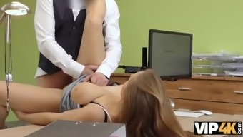 Vip4k. redhaired suzie gets owned in doggystyle