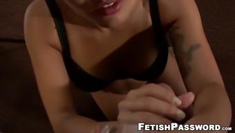 Asian babe mena li blows pov cock and tastes hot cum