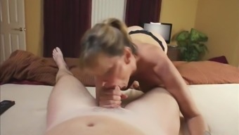Naughty Mature MILF Having a Real Orgasm with Her Rooommate